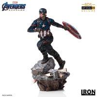 Avengers: Endgame - 1/10 Captain America (Deluxe) - Battle Diorama Statue