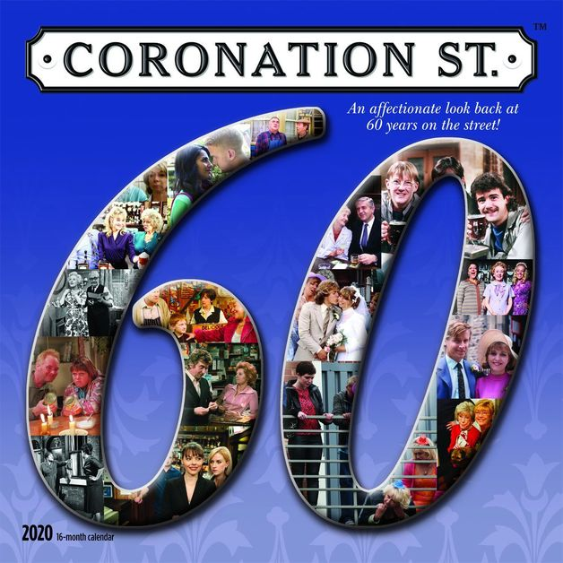 Coronation Street 2020 Square Wall Calendar