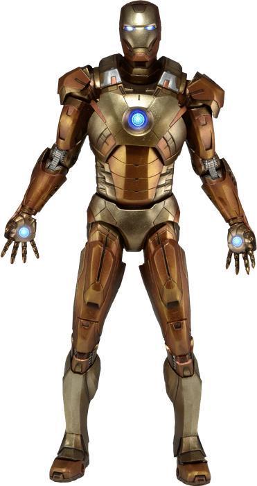 "Marvel Iron Man Midas Armor 18"" Action Figure image"