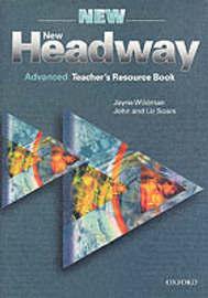New Headway: Advanced: Teacher's Resource Book by Liz Soars image