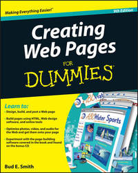 Creating Web Pages For Dummies by Bud E Smith