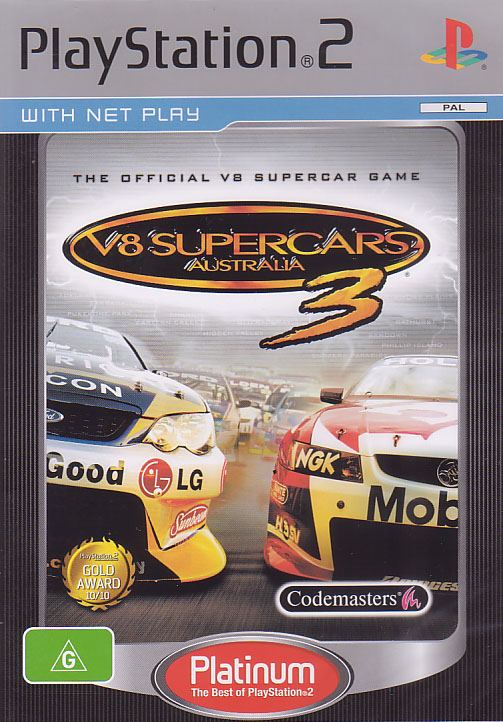 V8 Supercars 3 for PlayStation 2 image