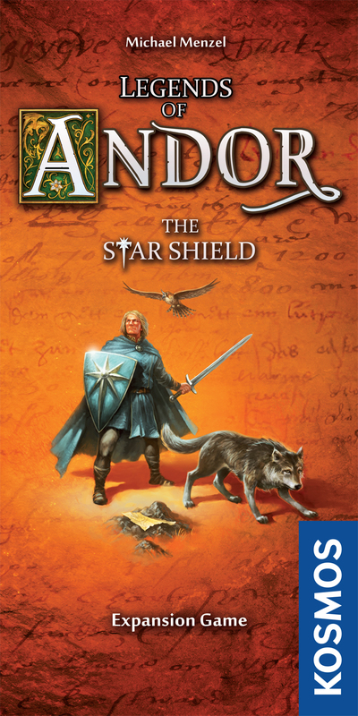 Legends of Andor: The Star Shield - Expansion