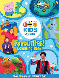 ABC KIDS Favourites! Colouring Book (Blue) by Abc