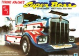 AMT: 1/25 Kenworth Super Boss Drag Truck (Tyrone Malone) - Model Kit