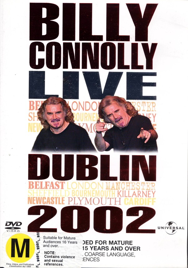 Billy Connolly - Live: Dublin 2002 on DVD image