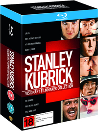 Stanley Kubrick Visionary Filmmaker Collection on Blu-ray image