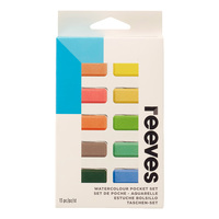 Reeves Water Colour Paints - Pocket Set