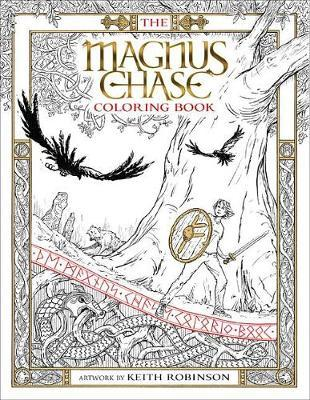 The Magnus Chase Coloring Book by Rick Riordan image