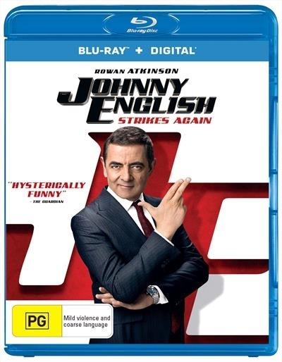 Johnny English Strikes Again on Blu-ray