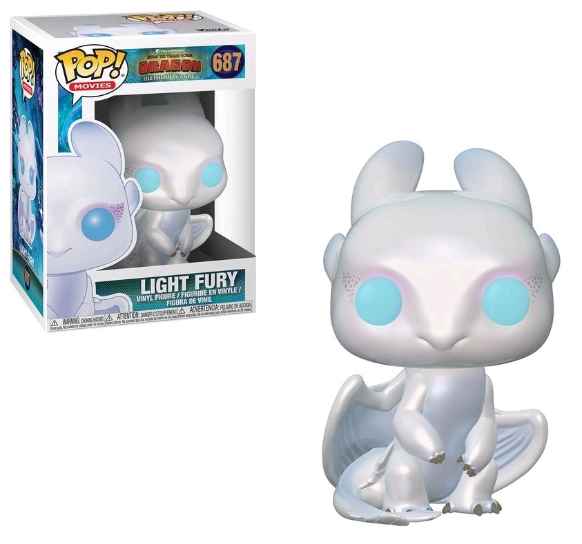 How To Train Your Dragon 3: Light Fury - Pop! Vinyl Figure image