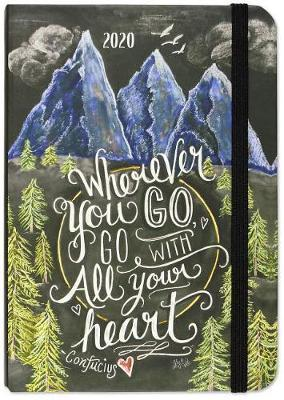 Peter Pauper Press: Wherever You Go, Go With All Your Heart 2020 Weekly Planner