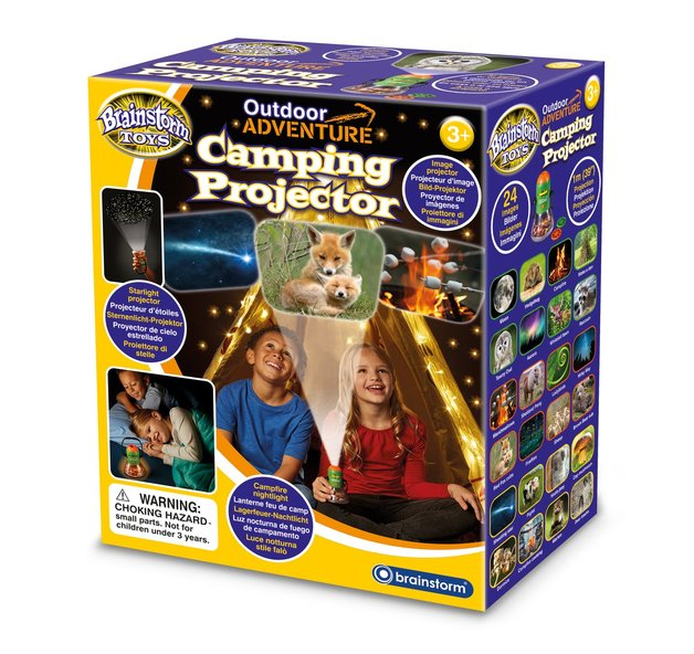Brainstorm Toys: Outdoor Adventure Camping Projector