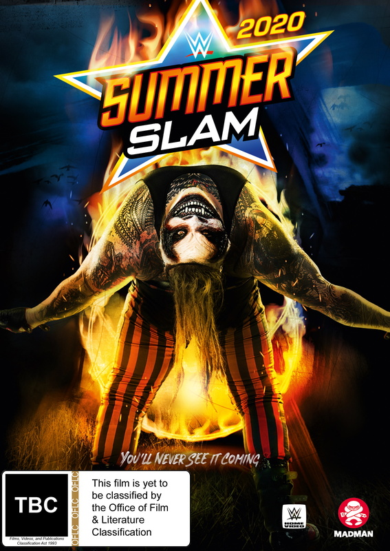 WWE: Summerslam 2020 on DVD