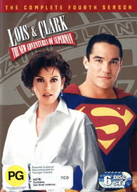 Lois & Clark: The New Adventures Of Superman Season 4 (6 Disc Set) on DVD image