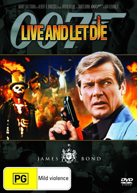 James Bond - Live and Let Die on DVD