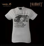 The Hobbit - Hobbit Hole Ice Grey T-Shirt (XL)