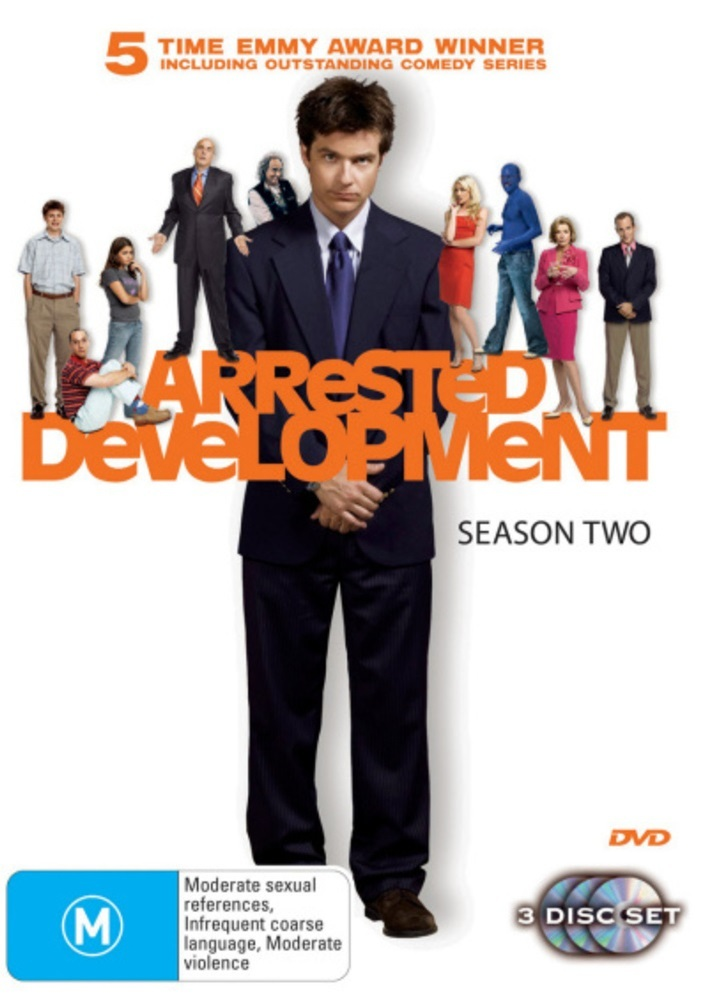Arrested Development - Season 2 (3 Disc Set) on DVD image