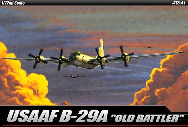 "Academy USAAF B-29 ""Old Battler"" 1/72 Model Kit"