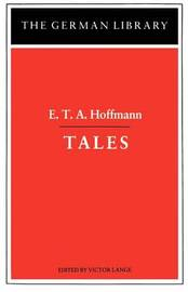 Tales by E.T.A. Hoffmann image