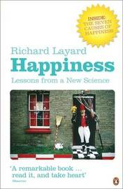 Happiness: Lessons from a New Science by Richard Layard image