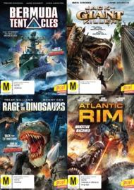 Monster Mockbusters Bundle on DVD