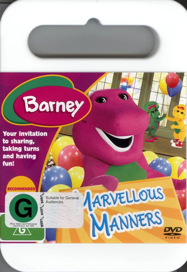 Barney - Marvellous Manners on DVD image