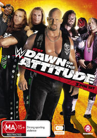 WWE: 1997: Dawn Of The Attitude on DVD