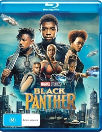 Black Panther on Blu-ray