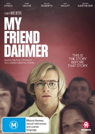 My Friend Dahmer on DVD