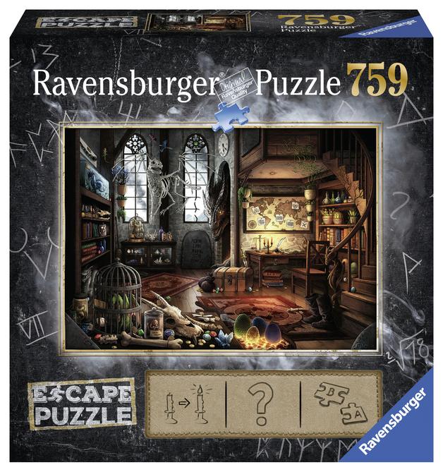 Ravensburger: Escape Puzzle - Dragon Laboratory