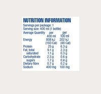 Atkins PLUS Protein-Packed Shake - Banana Caramel (400ml) image