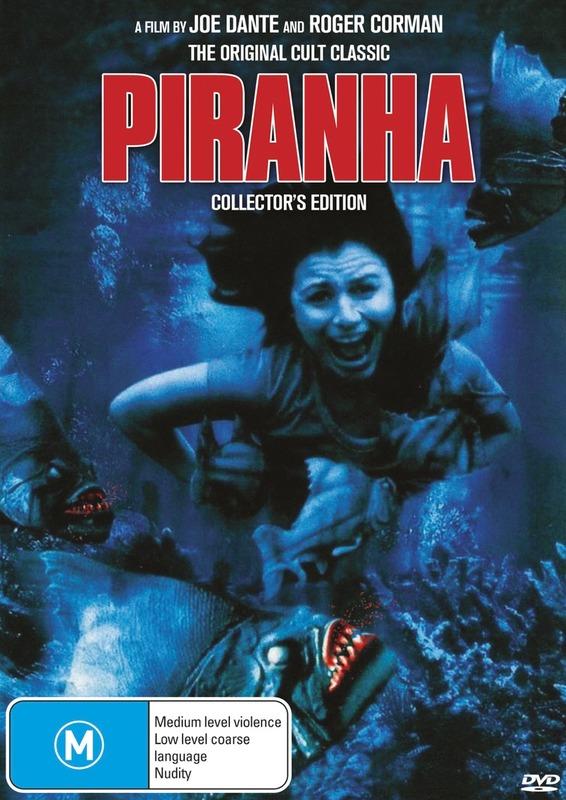 Piranha: The Original on DVD