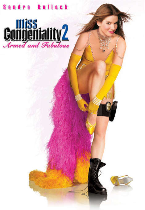Miss Congeniality 2: Armed & Fabulous on DVD