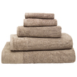 Bambury Costa Cotton Bath Towel (Mocha)