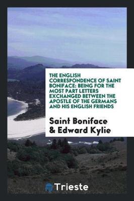 The English Correspondence of Saint Boniface by Saint Boniface image