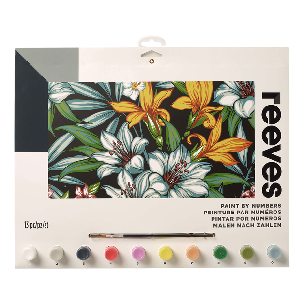 Reeves: Paint by Numbers - Tropical (Large)