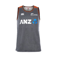 BLACKCAPS Vapodri Training Singlet (Large)