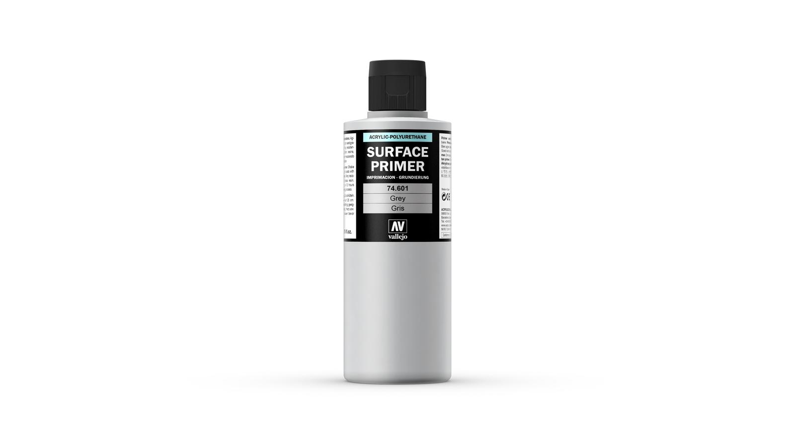 Vallejo Primer Acrylic Grey 200ml image