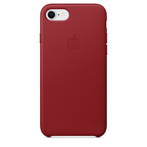 Apple: iPhone 8 / 7 Leather Case - Red