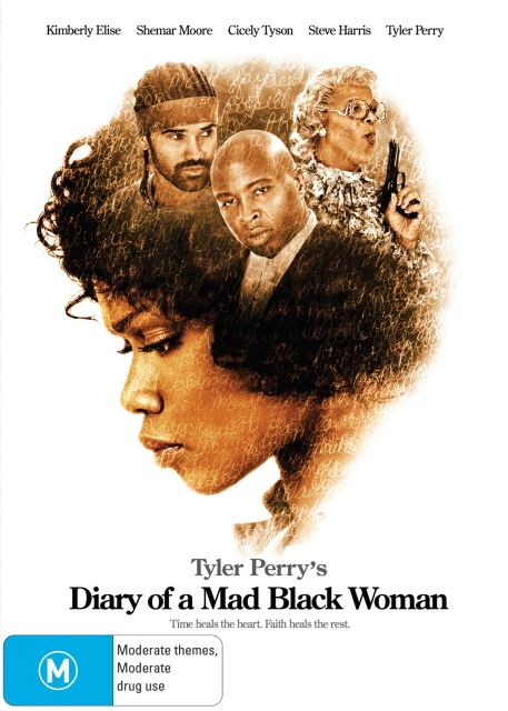 Diary Of A Mad Black Woman on DVD