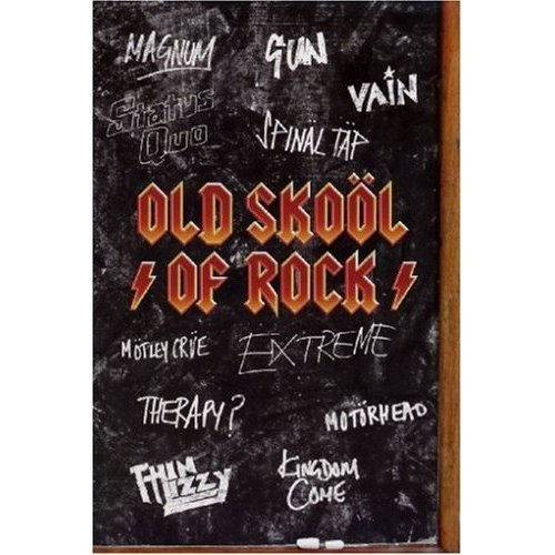Old Skool Of Rock on DVD
