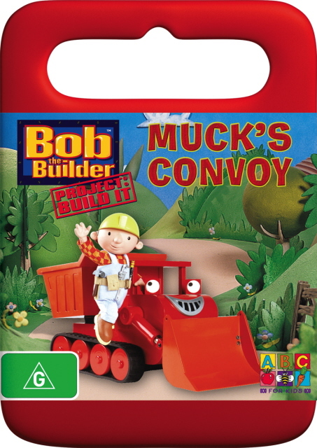 Bob The Builder - Muck's Convoy on DVD