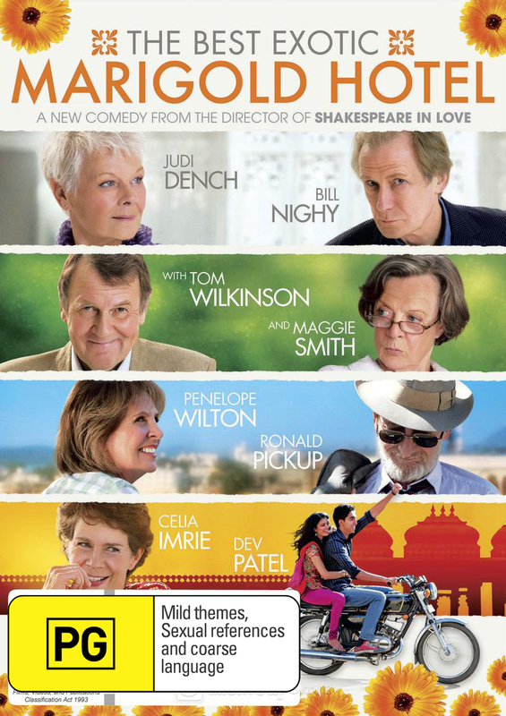 The Best Exotic Marigold Hotel on DVD