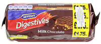 McVitie's Digestives Milk Chocolate (266g)