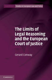 Cambridge Studies in European Law and Policy by Gerard Conway