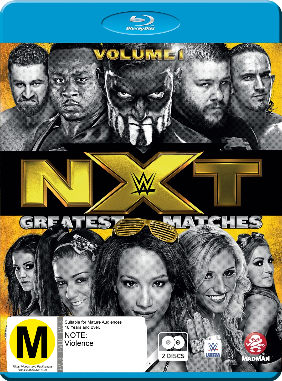 WWE: NXT's Greatest Matches - Volume 1 on Blu-ray image