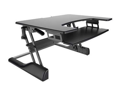 Buy Brateck HeightAdjustable Desktop Standing Desk at Mighty Ape NZ