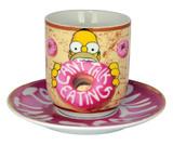 The Simpsons: Can't Talk - Mug & Saucer