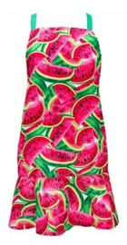 Annabel Trends Hostess Apron - Watermelon